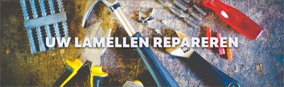 Extreem Reparatie-lamellen - een lamel of meerder lamellen zijn kapot AO91